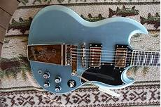 Epiphone Sg Custom Limited Edition 2013 Tv Pelham Blue
