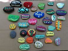 The Gray Area Diy Painted Rock Garden Markers