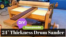 Diy 24 Quot Thickness Drum Sander Build And Parts