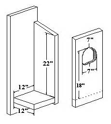 barred owl house plans species nestbox dimensions for barred owl bird house