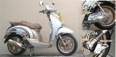Modifikasi Scoopy Retro by Modif Motor Modifikasi Retro Honda Scoopy