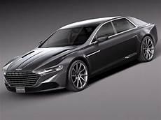 3d Model 2016 Aston Martin