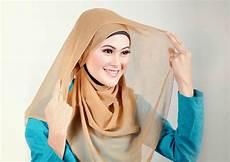 Tutorial Beginilah Cara Memakai Jilbab Segi Empat Model
