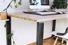 Schreibtisch Selbst Bauen - anleitung schreibtisch im industriestil selber bauen