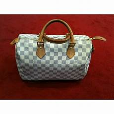 sac louis vuitton speedy 30 sac louis vuitton speedy 30 en toile damier azur