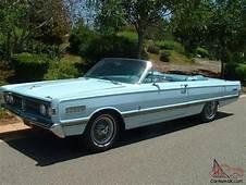 1966 Mercury Parklane Convertible  Lincoln