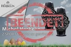 Oster Gewinnspiel 2017 Michel Herbelin Chronograph