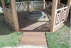 fabrication d une terrasse en bois fabrication d un kiosque en bois et d une terrasse