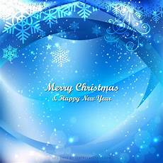 merry christmas blue background template