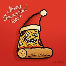 pizza for christmas pizzeria disgusto