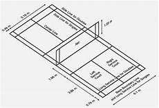 Ukuran Lapangan Badminton Bulu Tangkis Standar