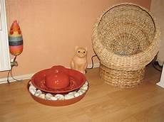 Keramik Im Hof Brunnen - katzenbrunnen