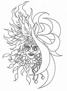 coloring pages of the sun coloring home