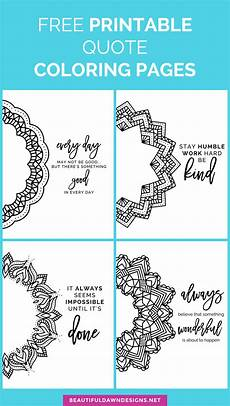 mandala coloring pages with quotes 17979 free printable mandala quote coloring pages beautiful designs