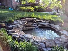 corner inspiring backyard pond ideas corner