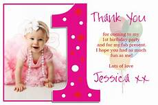thank you card template baby birthday 1st birthday quotes for cards quotesgram