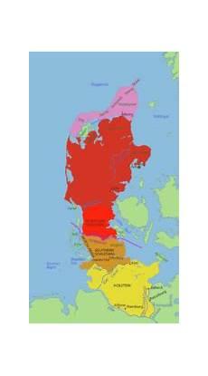 Westlicher Teil Dänemarks - j 252 tland in seinen m 246 glichen ausdehnungen auf der