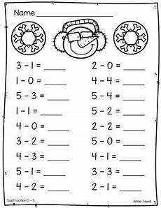 subtraction worksheets beginners 10007 winter beginning addition and subtraction worksheets kindergarten 1st grade addition
