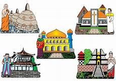 Baru 30 Gambar Kartun Rumah Ibadah Di Indonesia Gambar