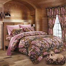 17 pc regal comfort pink camo comforter sheet queen size camouflage curtains ebay