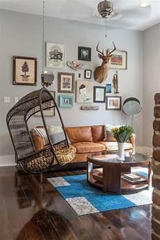 kreative wohnzimmergestaltung vintage m 246 bel ideen rund