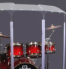 6 Section Drum Shield Panels W Deflectors Total Height
