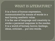 an introduction to english literature i