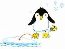 Bastelvorlage Pinguin Papier - basteln mit kindern kostenlose bastelvorlage tiere
