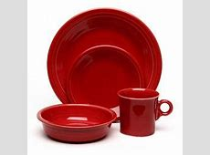 Shop Fiesta Red 16 piece Dinnerware Set   Free Shipping