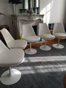 Authentiques Chaises Tulipe Saarinen 233 Dition Knoll L