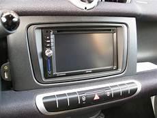 din radio bezel smart fortwo 451 facelift 2010