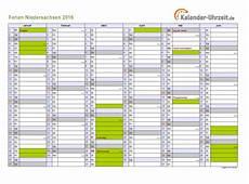 ferienkalender 2017 niedersachsen ferien niedersachsen 2016 ferienkalender zum ausdrucken