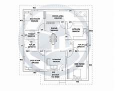 three bedroom house plan in kerala 1187 square feet kerala style home design with plan with 3