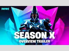 Season X   Battle Pass Trailer   YouTube