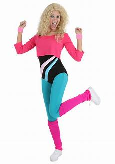 s 80 s workout costume