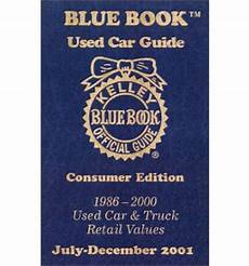 kelley blue book used cars value calculator 1986 pontiac 6000 user handbook kelley blue book used car guide 1986 2000 used car truck retail values july december kelley
