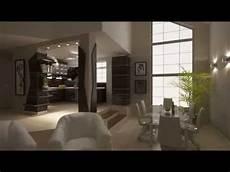 Wohnzimmer Mit Offener Küche - furnierte k 252 chenschr 228 nke mit halbinsel offene k 252 che zum