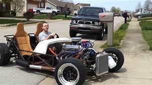 50 V8 Lotus Seven Replica Locost TEST DRIVE  YouTube
