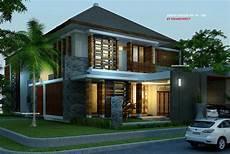 Contoh Desain Rumah Villa Bali Renovasi Rumah Net