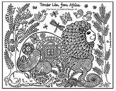 africa africa coloring pages