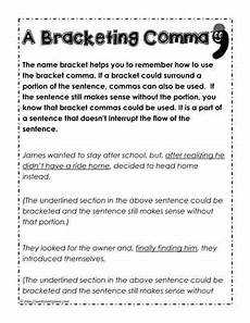 punctuation worksheets k12 20817 a bracketing comma punctuation worksheets sentence exles commas