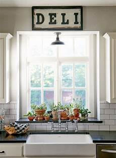 Kitchen Bay Window Plants by New Construction With Curated Charm In In 2019