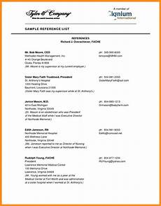 reference list template brittney taylor
