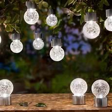 Pro Idee Solarleuchten - crackle balls 3 jaar productgarantie pro idee