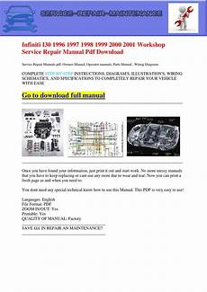 auto repair manual free download 1999 infiniti i on board diagnostic system infiniti i30 1996 1997 1998 1999 2000 2001 workshop service repair manual pdf download by dernis