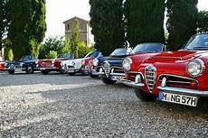 Im Alfa Giulia Spider Durch Die Toskana Alfa Romeo