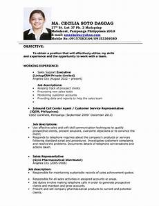 image result for objectives in resume for call center no experience resume exles