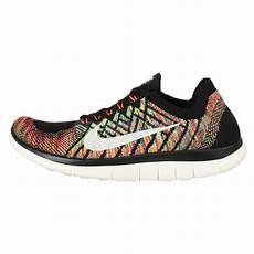 wmns nike free 4 0 flyknit multi color rainbow womens