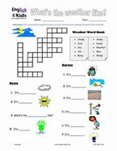 esl kids worksheet weather worksheets