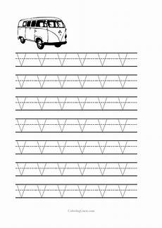 letter v free printable worksheets 23812 free printable tracing letter v worksheets for preschool coloring pages for